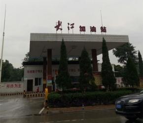 重庆监控,大江加油站高清监控安装工程