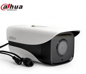大华400万新品星光级H.265红外枪式网络摄像机