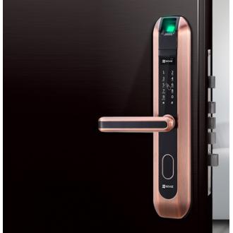 重庆海康威视智能锁,DL2家用密码指纹锁